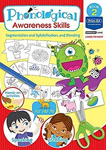 Phonological Awareness - Segmentation and Syllabification, and Blending: Book 2 (Phonological Awareness Skills)