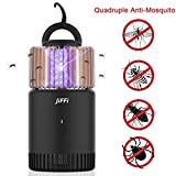 Jiffi Bug Zapper Mosquito Killer, Hanging UVA Mosquito Light, 2000mAh Battery, USB-Powered, Attractant Mosquito Killer, Outdoors and Indoors