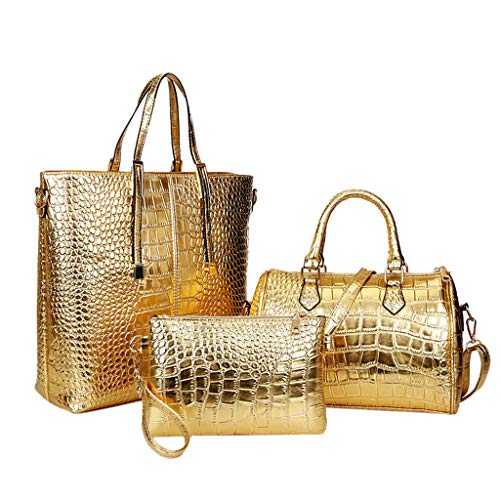 51sbWOOuE1L 💼 Material: PU--Fashionable and durable. Diffrent ways to carry, you can use the bag as Tote, Shoulder Bag or Crossbody Bag. Back to School Supplies Essentials Off to College Deals 2019-It is a great gift for Girlfriend, Lover, Holiday Gifts, Birthday, Thanksgiving, Christmas, New Year, Valentine's Day etc. It is very suitable for Wedding , party, ball, daily casual wearing, travel, office occasion. Size: 30cm(W) X 35cm(H) X 12cm(T)/ 11.81inch(W) X 13.77inch(H) X 4.72inch(T). 💼 This bag is casual yet fashionable and functional to wear with nicer outfits. A great gift for girls, women, and ladies. And never go out of style. 💼 You can carry it as a single-shoulder bag as there is a shoulder strap, Carry hands-free while you still look chic and fashionable! Women, ladies, girls, and teens will love this cute, designer bag.