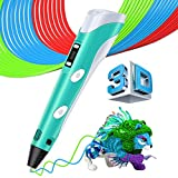 3D Pen - 3D Drawing Printing Pen - No Mess Non-Toxic, Gifts and Toys for Kids & Adults - Modern Arts and Crafts Tool, Unleash Creativity