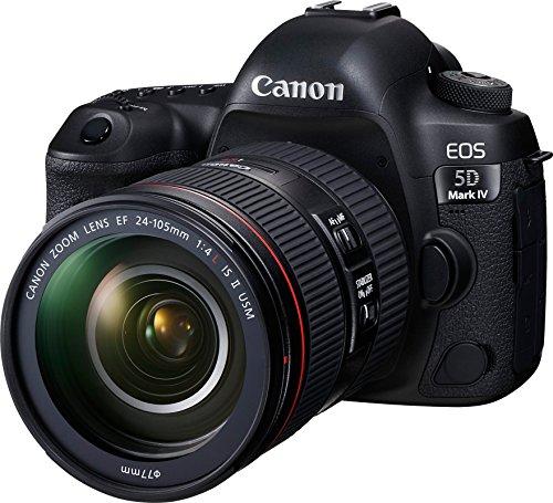 Canon EOS 5D Mark IV 30.4 MP Digital SLR Camera (Black) + EF 24-105mm is II USM Lens Kit 7