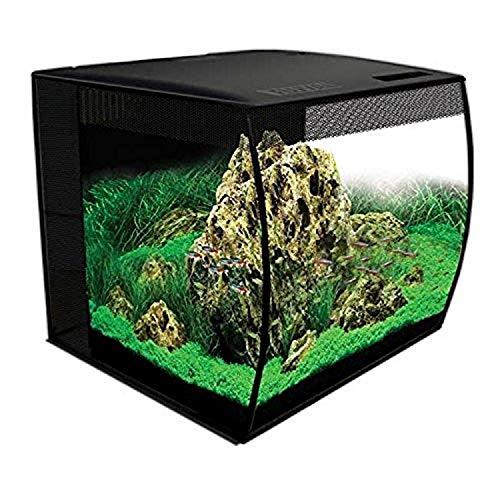 Hagen HG Fluval Flex Aquarium, 15gal, Black