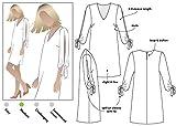 Patrn de costura Style Arc - Vestido de Marilyn., Sizes 18-30