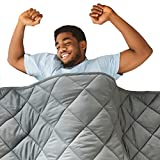 Hypnoser Adult Weighted Blanket Queen Size (20 lbs, 60''x80'' ) | Cooling Heavy Blanket | 100%...