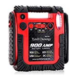 Jump Starter Car Battery Charger, Emergency Power Supply 20000mAh Portable Power Pack (Up to 6L Gas or 6L Diesel Engine), 12V Portable Auto Lead-acid Battery Booster with LED Light