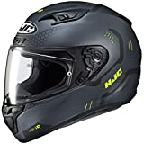 HJC Helmets Unisex-Adult Full Face i10 Helmet (Black, XXX-Large)