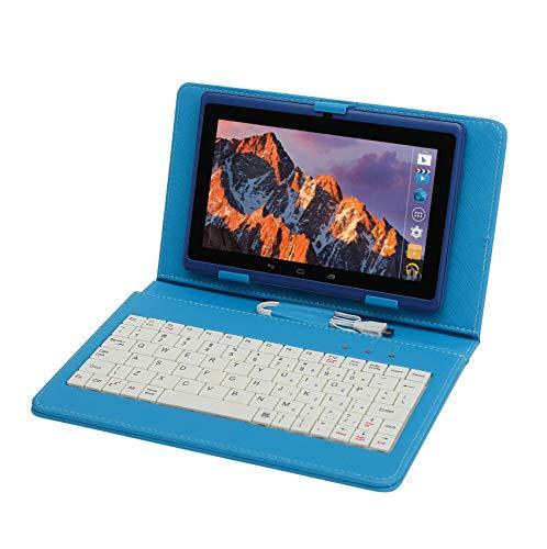 Tablet PC 7 Pollici,Computer portatile Quad Core Con Tastiera e Penna, Tableta memoria RAM da 512MB...