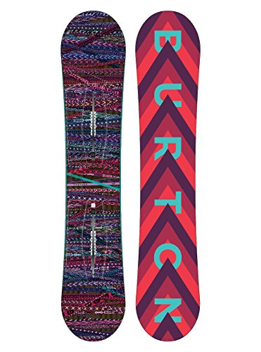 Burton Damen Feather Snowboard, Schwarz, 144