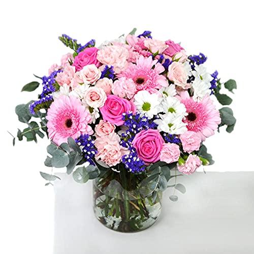 Ramo de flores naturales Ibiza - Se lo entregamos de manera personalizada a la persona que...
