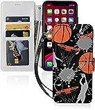 バスケットボール basketball iPhone 11 Pro ケース 手帳型 アイフォン 11Pro カバー 手帳型 i……