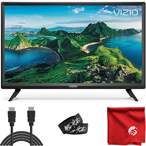 VIZIO D-Series 32-Inch Class 1080p Full HD LED Smart TV (D32F-G1/D32F-G4) with Built-in HDMI, USB, SmartCast, Voice Control Bundle with XRYX 6.5 ft HDMI Cable and Accessories