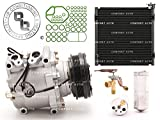 Comfort Auto Brand New AC A/C Compressor Kit With Condenser 1998-2000 Honda Civic L4 1.6L With 1 Year Warranty