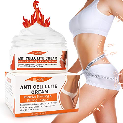 Hot Cream Cellulite Treatment,Slimming firming Cream,Break Down Fat Tissue,Tightens and Moisturizes Skin,Body Fat Burning Best Weight Loss Cream and Slimming Cellulite Tightening cream 8