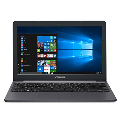 ASUS VivoBook L203MA Laptop, 11.6 HD Display, Intel Celeron Dual Core CPU, 4GB RAM, 64GB Storage, USB-C, Windows 10 Home In S Mode, Up To 10 Hours Battery Life, One Year of Microsoft 365, L203MA-DS04