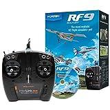 RealFlight 9: RF9 Radio Control RC Flight Simulator Software with Spektrum Interlink-DX Controller, RFL1100