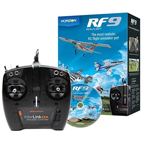 Realflight 9 INKL. Spektrum Controller