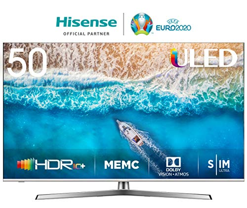 Hisense H50U7BE - Smart TV ULED 50' 4K Ultra HD con Alexa Integrada,...