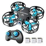 SNAPTAIN H823H Mini Drone Enfant 21 Mins Autonomie 3 Batteries Avion...