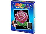 Sequin Art Blue, Red Rose, Sparkling Arts and Crafts Picture Kit, Creative Crafts