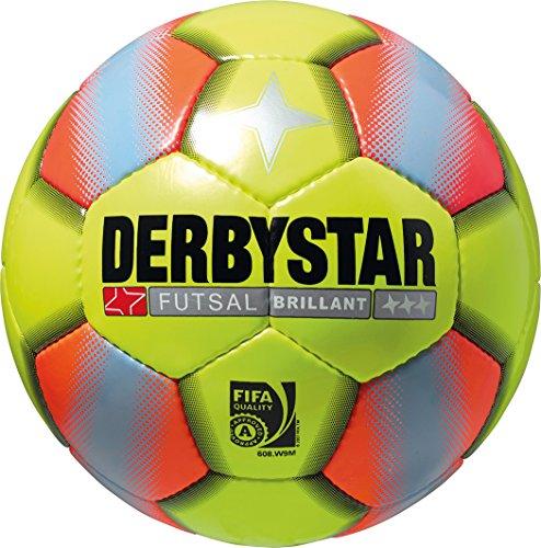 Derbystar Futsal Brillant, 4, gelb orange, 1081400576