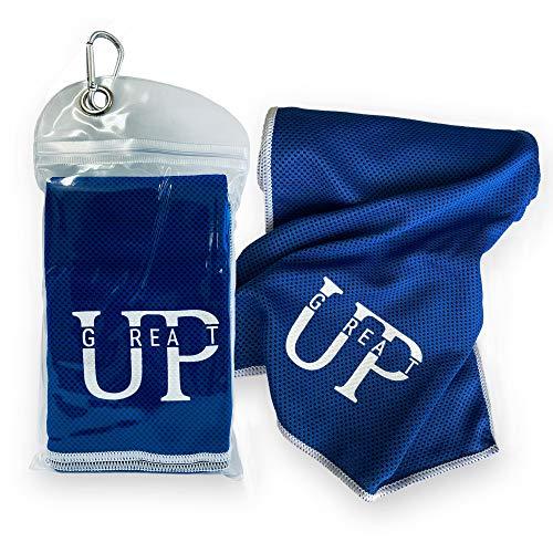 UP GREAT Kühlendes Handtuch aktmungsaktiv für Fitness, Radfahren, Wandern, Yoga, Laufen, Golf,...