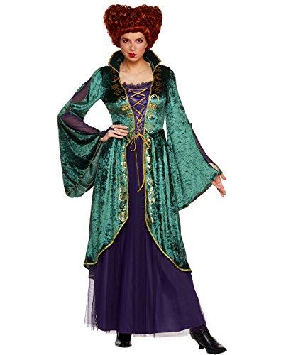 Spirit Halloween Adult Winifred Sanderson Hocus Pocus Costume   Officially Licensed Green, Purple