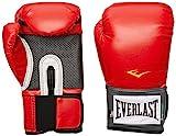 Everlast - Pro Style - Guantes de entrenamiento - 1200009, 16 oz., Rojo