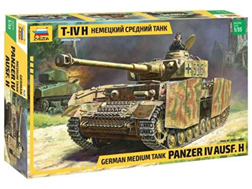 ZVEZDA 500783620 - 1:35 Panzer IV Ausf.H (SD.Kfz 161/2), Modellbau, Bausatz, Standmodellbau, Hobby, Basteln, Plastikbausatz