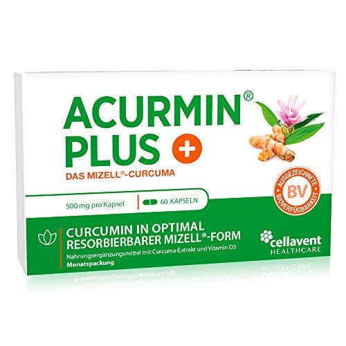 Mizell Kurkuma Kapseln – extra hoch dosiert – C14 geprüft & mehrfach ausgezeichnet – Das Original in pharmazeutischer Qualität