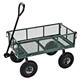 Sandusky Lee CW3418 Muscle Carts Steel Utility Garden Wagon, 400 lb. Load Capacity, 21-3/4' Height x 34' Length x 18' Width