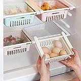 HapiLeap Boite Rangement Frigo Réfrigérateur Escamotable avec Tiroir...