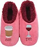 Snoozies Pairables Womens Slippers - House Slippers - AM/PM - Large