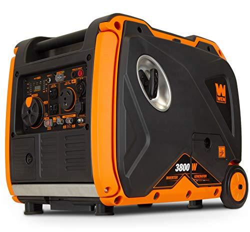 WEN 56380i Super Quiet 3800-Watt Portable Inverter Generator with...