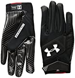 Under Armour Men's Playoff ColdGear II Gloves, Black (001)/White, Medium