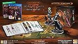 """Contient: Le jeu """"Sword Art Online: Fatal Bullet"""" sur PS4 Un artbook collector Les figurines eclusives exclusives Kirito et Sinon de 16cm La carte du jeu au format A3"""