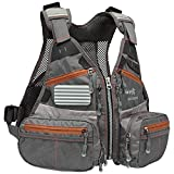 Bassdash Youths Kids Fly Fishing Vest for Adjustable Size with...