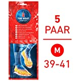 THE HEAT COMPANY Semelles Chauffantes - EXTRA CHAUD - 8 heures de chaleur - chaleur immédiate - autochauffante - purement naturel - MEDIUM Taille: 39-41 - 5 paires