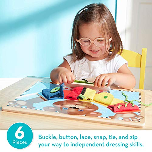 Melissa-Doug-Basic-Skills-Board-Developmental-Toys-6-Removable-Pieces-Puzzle-Board-Practice-Fine-Motor-Skills-Great-Gift-for-Girls-and-Boys-Best-for-3-4-and-5-Year-Olds
