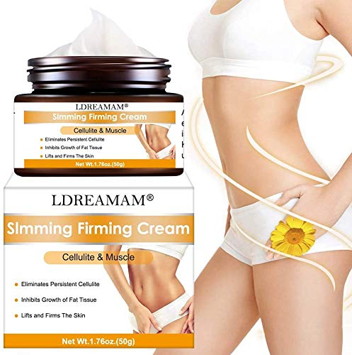 Anti Cellulite Cream,Slim Cream,Hot Cream,Break Down Fat Tissue,Tightens & Moisturizes Skin,Slim Body Cream for Shaping Waist, Abdomen and Buttocks 7
