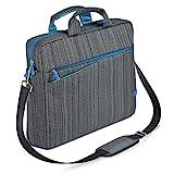CSL - Maletín para portátiles de hasta 17,3 Pulgadas 43,2cm - Maletín para Ordenador - Mochila para portátile -Acolchada y Resistente a la Suciedad y al Agua