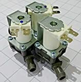 NEW Primeco 5221ER1003A Compatible Replacement Water Valve for LG & Kenmore Washers by Oem Parts Manufacturer 5220FR2075L, 5221ER1003C, AP5986564 5221ER1003D, 5221ER1003F, PS11728995-2 YEAR WARRANTY