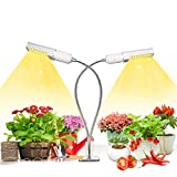Growstar Profeesional 50w Plant Light for Indoor Plants, 100 LEDs Timing Grow Lamp, Replaceable...