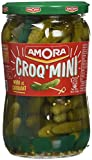 Amora Cornichons Croq' Mini 205 g - Lot de 6