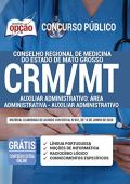 Apostila CRM MT Auxiliar Administrativo: Área Administrativa