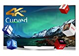 Finlux 55 Inch Curved Ultra HD Smart 3D LED TV Freeview HD (55UT3EC320S-T) (Electronics)
