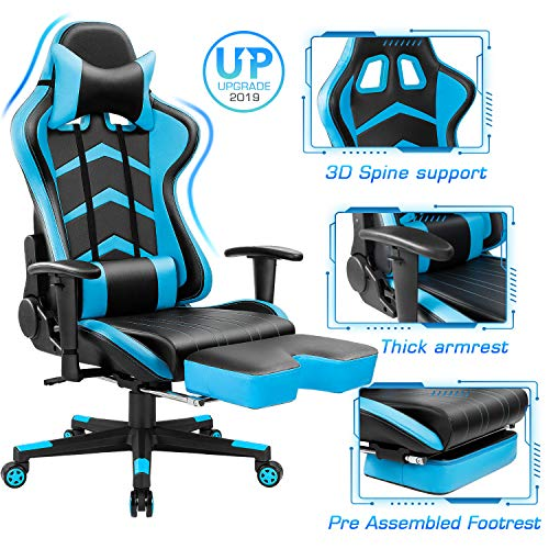 Superb Top 20 Best Gaming Chairs Under 200 In 2019 Techsiting Caraccident5 Cool Chair Designs And Ideas Caraccident5Info