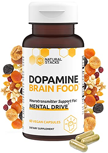 Natural Stacks Dopamine Supplement 60 ct - Boost Your Mental...