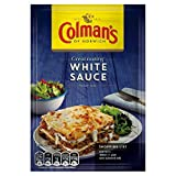 Colman's Colman's White Sauce Mix - 25g - Pack of 8 Store in cool dry place Delivery from the UK in 7-10 Days Allergen Information Contains Milk, Wheat, Barley
