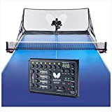 Butterfly Amicus Expert Table Tennis Robot | Fantastic Ball Launcher-Thrower-Shooter for Your Ping Pong Table | Free Carry Bag, Remote, Tech Support, & 120 Balls | Practice Ping Pong Anytime