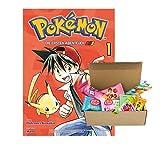 Pokémon - Les premières aventures - Volume 1, bande de manga, livre de poche + boîte de...
